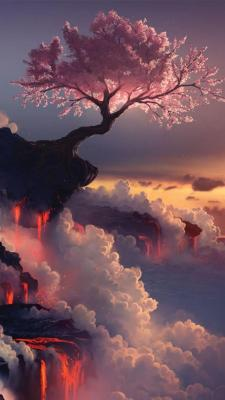 Fuji Volcano, Japan. Cherry Blossom Source: http://www.flickr.com/photos/roadragebunny/2438636922/