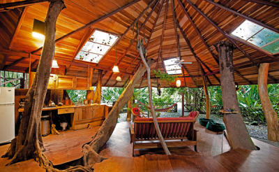 Tropical Tree House Lodge in Costa Rica