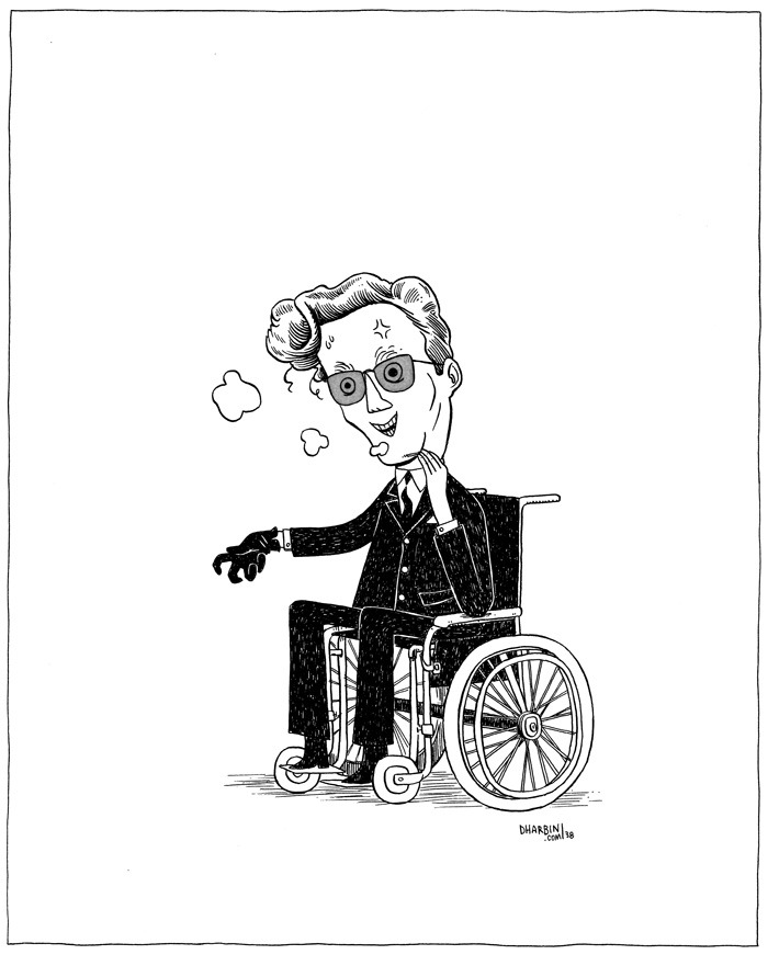"DR. STRANGELOVE. An ""Hour Drawing,"" available to purchase here, and the 200+ set of them so far here. Subject suggestion for this one was ""Dr. Strangelove."""