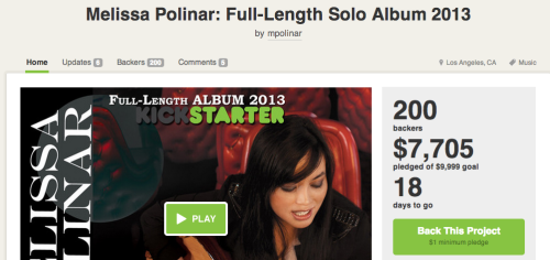 "Hey Tumblr Fambam! We now have reached 200 backers for this project. Now let's get this to the finish line! A great way to get this rollin' even faster is to keep posting on Twitter, Facebook, blogs, and etc. I know some people are waiting last minute but it would be nice if we can get this to 100% soon. If this campaign won't reach the goal, I'd have to postpone this project indefinitely. ((insert sad face)) And we proobably don't want that to happen. So many of you have been helping me out of the awesomeness of your heart and I thank you soooo much! They don't go unoticed and I truly appreciate every single one of you! Almost There! Please help me get rid of ""Almost""! :) (see what I did there??? ;)) - - - - - LINK - - - - -http://kck.st/Uyh2Rohttp://kck.st/Uyh2Rohttp://kck.st/Uyh2Ro - - - - - - - - - - - - love you guys and gals, mp"