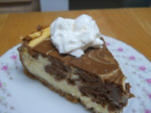 fooderific:  Orange Chocolate Swirl Cheesecake recipe here find more mouthwatering treats and recipes here!