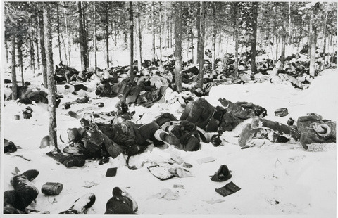 "horror-is-not-dead:  The Dyatlov Pass Accident The Dyatlov Pass Accident refers to an incident that resulted in the death of nine ski hikers in the northern Ural mountains. The incident happened on the night of February 2, 1959 on the east shoulder of the mountain Kholat Syakhl(a Mansi name, meaning Mountain of the Dead). The mountain pass where the accident occurred has been named Dyatlov Pass after the group's leader, Igor Dyatlov. The mysterious circumstances of the hikers' deaths have inspired much speculation. Investigations of the deaths suggest that the hikers tore open their tent from within, departing barefoot in heavy snow; while the corpses show no signs of struggle, one victim had a fractured skull, two had broken ribs, and one was missing her tongue. The victims' clothing contained high levels of radiation. Soviet investigators determined only that ""a compelling unknown force"" had caused the deaths, barring entry to the area for years thereafter. The causes of the accident remain unclear. It had been agreed beforehand that Dyatlov would send a telegraph to their sports club as soon as the group returned to Vizhai. It was expected that this would happen no later than February 12, but when this date had passed and no messages had been received, there was no reaction, delays of a few days were common in such expeditions. Only after the relatives of the travelers demanded a rescue operation did the head of the institute send the first rescue groups, consisting of volunteer students and teachers, on February 20. Later, the army and police forces became involved, with planes and helicopters being ordered to join the rescue operation. On February 26, the searchers found the abandoned camp on Kholat Syakhl. The tent was badly damaged. A chain of footsteps could be followed, leading down towards the edge of nearby woods (on the opposite side of the pass, 1.5km north-east), but after 500 meters they were covered with snow. At the forest edge, under a large old pine, the searchers found the remains of a fire, along with the first two dead bodies, those of Krivonischenko and Doroshenko, shoeless and dressed only in their underwear. Between the pine and the camp the searchers found three more corpses – Dyatlov, Kolmogorova and Slobodin – who seemed to have died in poses suggesting that they were attempting to return to the camp. They were found separately at distances of 300, 480 and 630 meters from the pine tree. Searching for the remaining four travelers took more than two months. They were finally found on May 4, under four meters of snow, in a stream valley further into the wood from the pine tree."