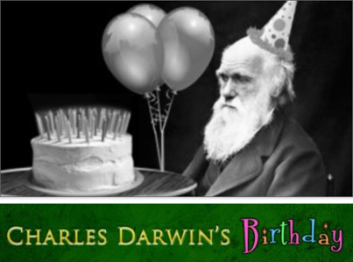 Charles Darwin's Birthday [Click for full] Hey everyone! First off let me just say thank you so much for coming to my birthday party. I know that I can kind of live out of the way of most stuff, but I appreciate you making the trek! Also, sorry about that riddle at the gate, it is just a way to keep pranksters with an IQ below 110 from crashing the party. But don't text anyone the answer; there is a trap door for people who get the answer wrong that I have been dying to test out. Keep Reading