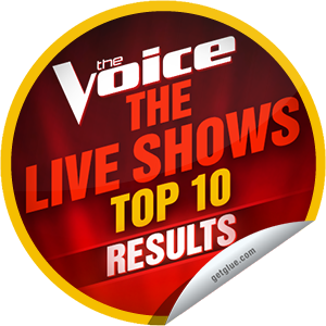 I just unlocked the The Voice Season 4: Top 10 Live Results sticker on GetGlue                      2358 others have also unlocked the The Voice Season 4: Top 10 Live Results sticker on GetGlue.com                  Which two contestants do not make it into the top 8? Thanks for tuning into The Voice tonight! Keep watching on Mondays and Tuesdays at 8/7c on NBC. Share this one proudly. It's from our friends at NBC.
