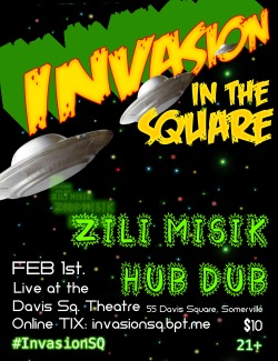 Invasion in the Square. FEB 1st! Tickets available online at http://invasionsq.bpt.me