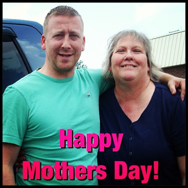 Happy moms day.