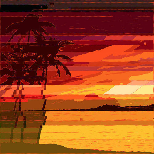 Tropical Glitchset - http://society6.com/andyandyandy/Tropical-Glitchset