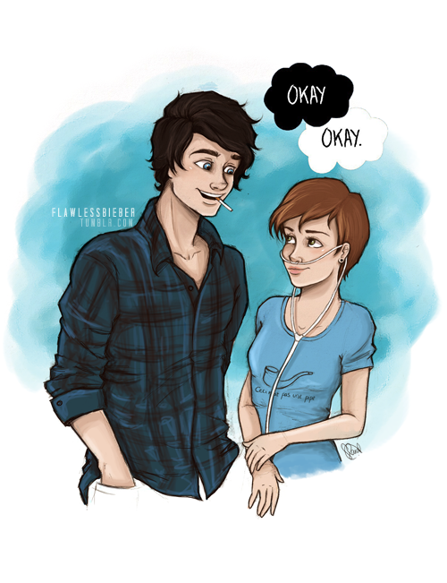"""Oh, I wouldn't mind, Hazel Grace. It would be a privilege to have my heart broken by you."" - The Fault in Our Stars."