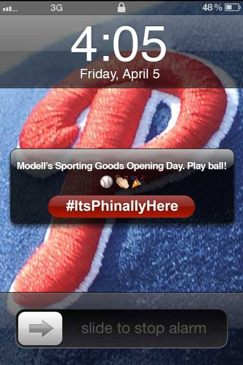Play ball! #ItsPhinallyHere