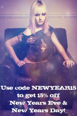 For today & tomorrow only, use code NEWYEAR15 at the checkout to get 15% off all orders!Valid in the Etsy shop only.https://www.etsy.com/shop/Dollydripp?ref=si_shop