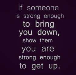 beenfatfortolong:  Strong Enough