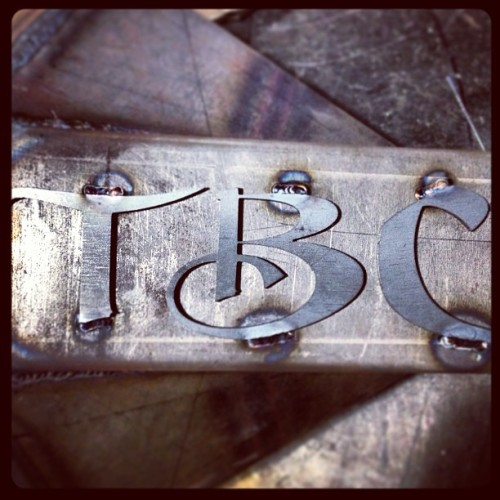 Some TBC branding…..#fabricationatitsfinest #tbcworks #timbradham #lincolnwelders #builtnotbought #weldporn #fabrearend #metalfab #mustanggt350 (at TBC Hot Rods & Bikes)