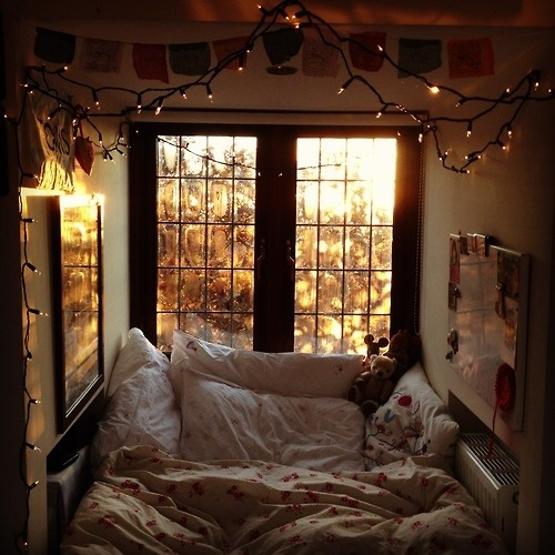 cozy and dreamy