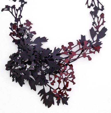 Helen Shirk necklace Velvet da Vinci