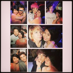 With my favorite people P1. #instacollage #love #kpop #nightout #fun #clubbing #manila #kpopnight #asian #friends #awesome #wasted #drunk