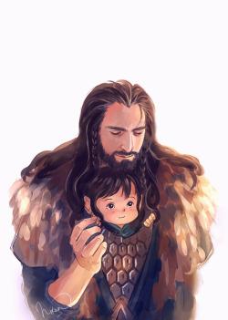 doodles kili my fan art Thorin le hobbit best uncle