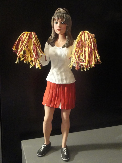 "Cheerleader Buffy - ""The Witch"" - OOAK Custom 12"" Statue …"