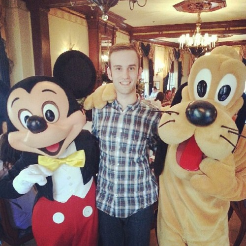 thedisneydifference:  Look who hung out with us at Club 33!!