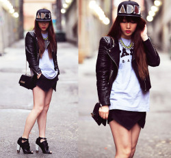 lookbookdotnu:  Pretty Tough (by Ivy Xu)