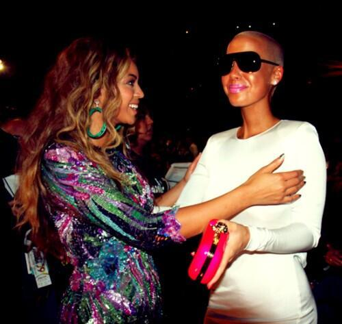 Beyonce and Amber Rose photo