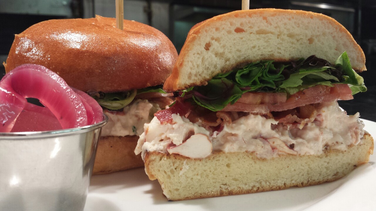 Item of the day: Lobster Club on brioche