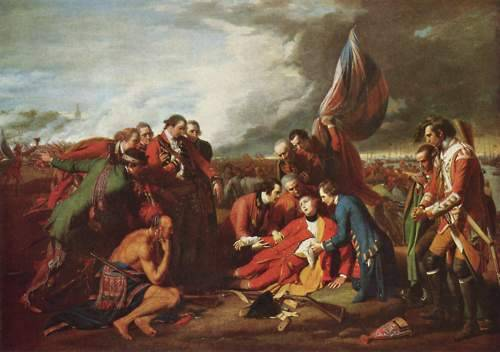 cavetocanvas:  Benjamin West, The Death of General Wolfe, 1771