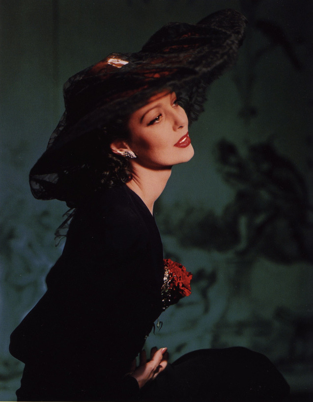 portrait by horst – loretta young ny 1941