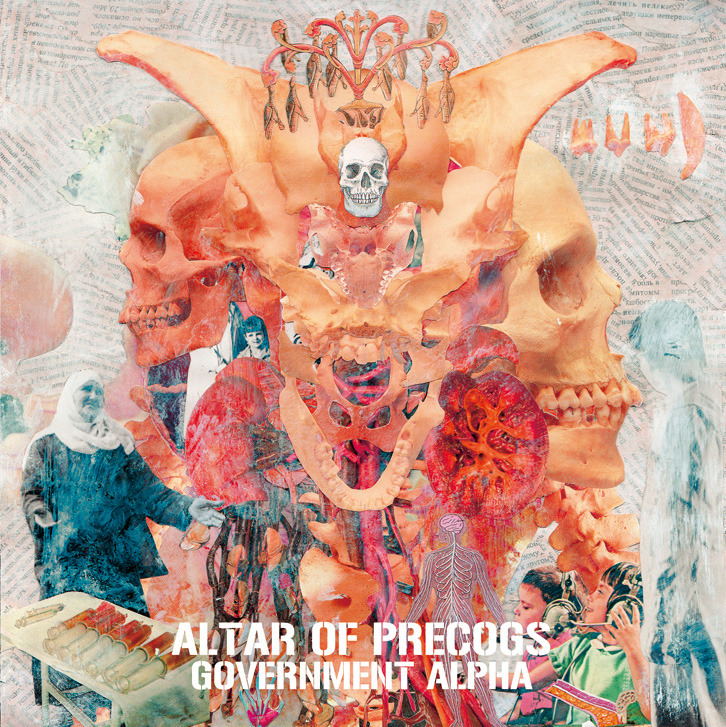 """ALTAR OF PRECOGS"" 7 inch  side A: Flux side B: Purge  produced and mixed by Government Alpha recorded at Xerxes Studio in October 2011  released on amethyst sunset AS-015 http://amethystsunset.net/"