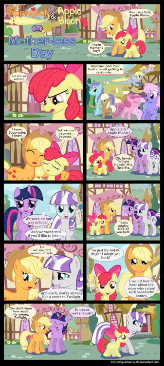pony-effect:  Mother-less Day by *MLP-Silver-Quill