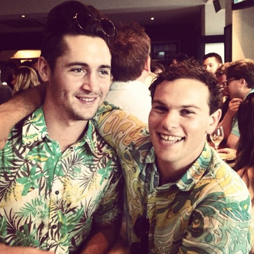Anzac Day double fothing #menswear #style #Hawaiian #retro #pub