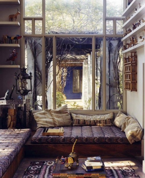 bohemianhomes:  Bohemian Homes: Window Envy