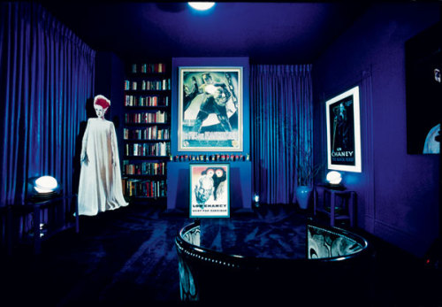 Inside the Pleasure Dome, Kenneth Anger's personal Movie Museum house in Hollywood.
