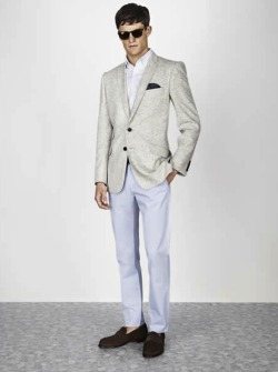mensfashionworld:  Jaeger S/S 2013 lookbook