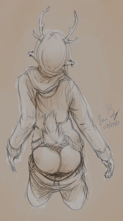 *ahem* I drew a butt. Thank you.