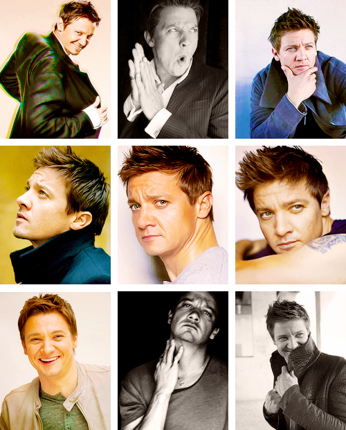lmnpnch:  I like your face 06/25 → Jeremy Renner