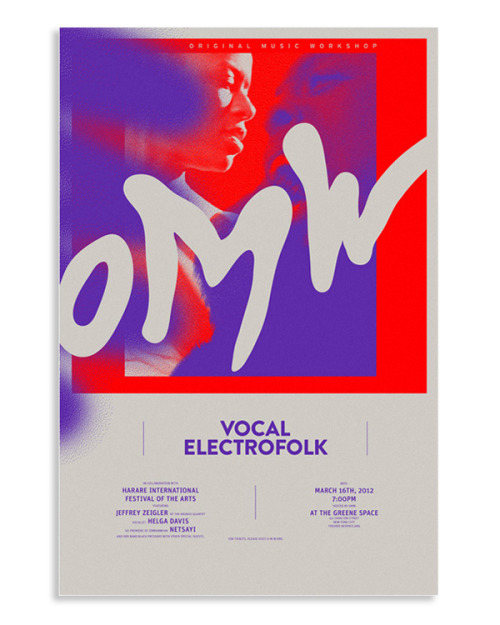 thisiscatalogue:  Nice poster work from New York based Mogollon.