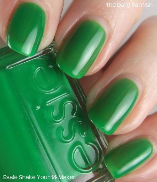 thedailyvarnish:  Essie Shake Your $$ Maker  Before this post can be read this song must be playing in the background. Seriously. I've had that…  View Post