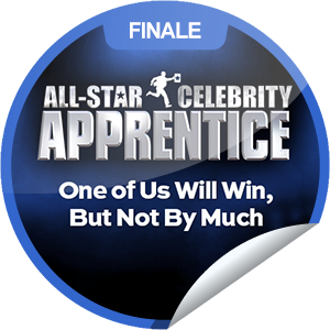 I just unlocked the All-Star Celebrity Apprentice: One of Us Will Win, But Not By Much sticker on GetGlue                      659 others have also unlocked the All-Star Celebrity Apprentice: One of Us Will Win, But Not By Much sticker on GetGlue.com                  Who is announced the winner? Thanks for tuning in to the season finale of All-Star Celebrity Apprentice tonight! Share this one proudly. It's from our friends at NBC.