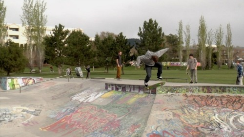 Late backfoot kickflip by Brock Ramsay