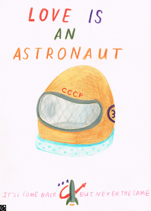 debutart:  Love Is An Astronaut by Harry Malt
