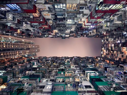 nationalgeographicdaily:  Quarry Bay, Hong KongPhoto: Romain Jacquet-Lagreze