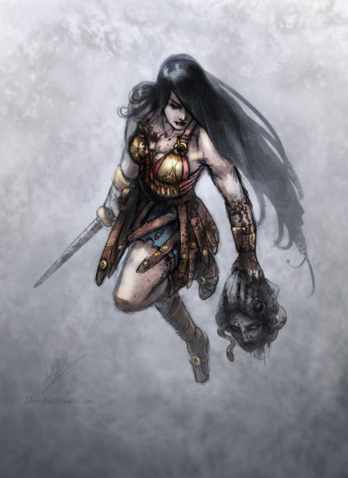 thehappysorceress:  Wonder Woman by K. Feigenbaum