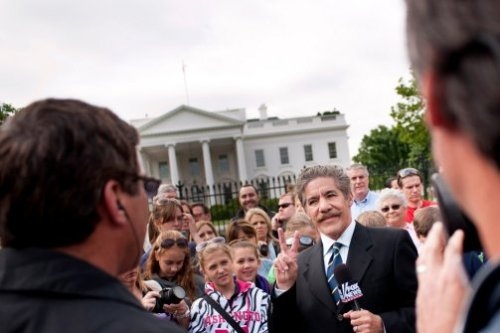 Geraldo Rivera wants to run for the Senate. It's an article that proves that it's never too early to lose hope in our federal government. May he never get a single vote. (photo by Pete Marovich/ZUMA, via Corbis)