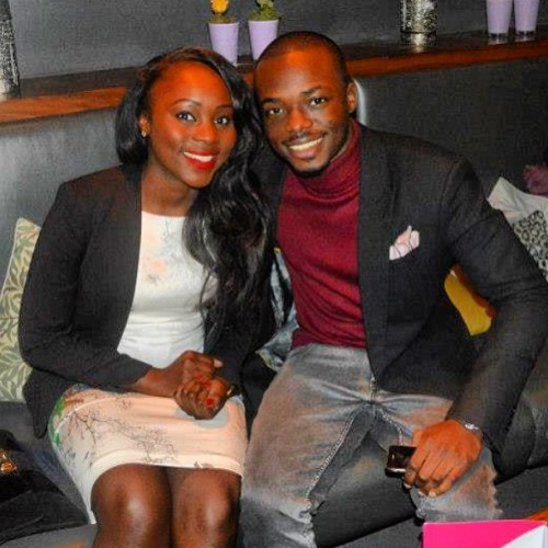 @Farintee & I last night at @princess_ade's birthday. Blazer by www.eastandlester.com 😎