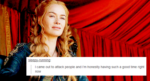 Cersei Lannister + text posts