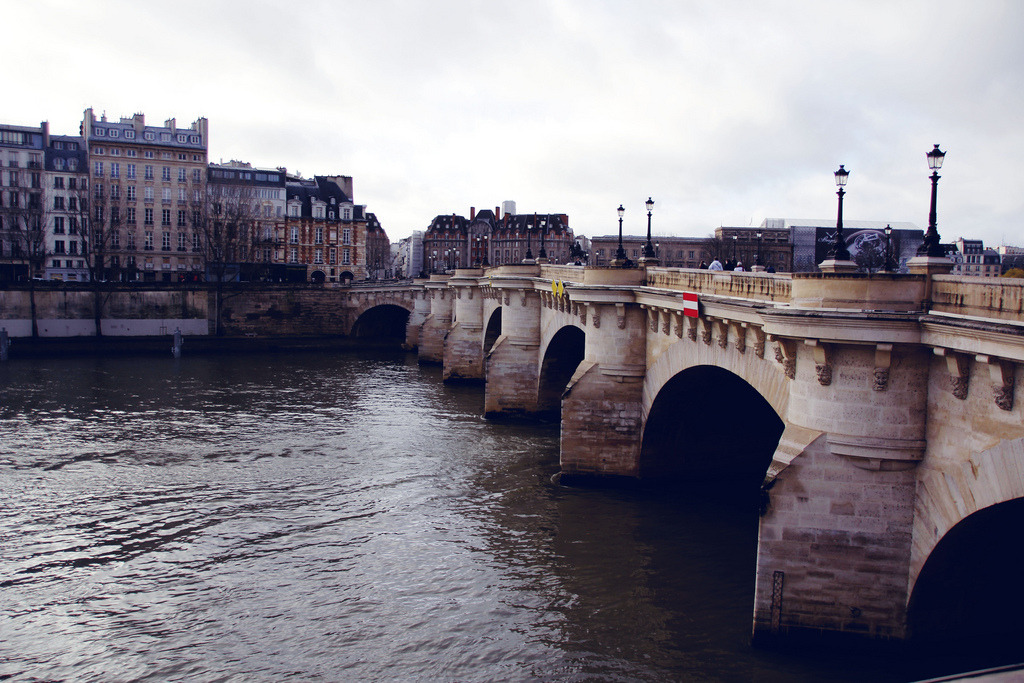 voldy92:  The Seine (by (✿◕‿◕))