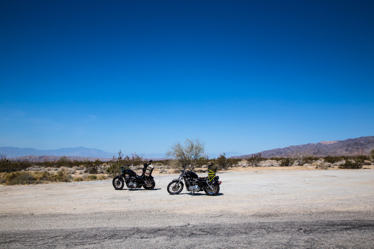 took a motorcycle trip to joshua tree a few weekends ago.