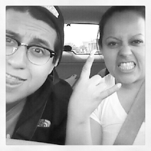 Bein ratchet with this shawty @jtngt2006 #selfieSunday #Mom #MyLove