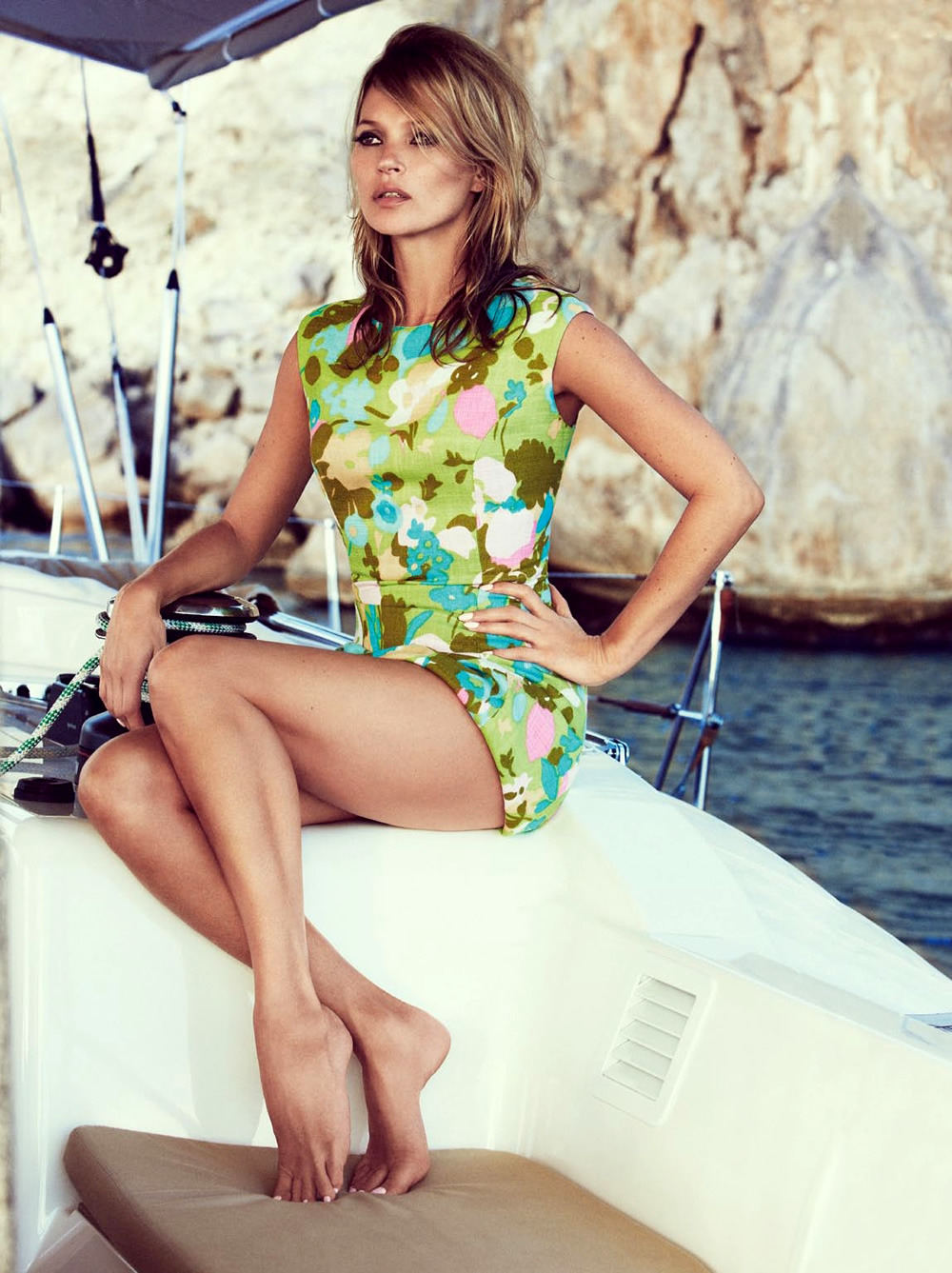 aintyourforte:  Kate Moss by Patrick Demarchelier for Vogue UK June 2013
