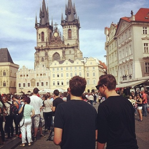 lostandfoundinprague:  The XX in Prague